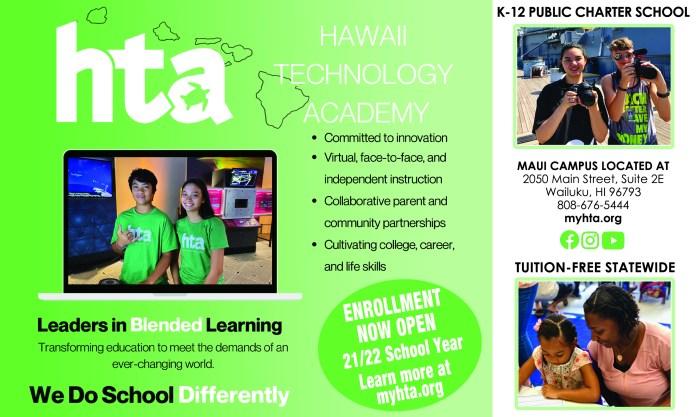 Hawaii Technology Academy 2021