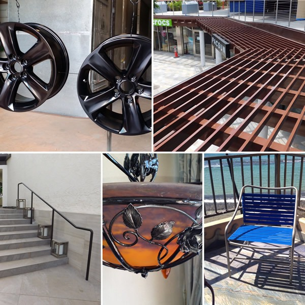 examples of powder coated projects
