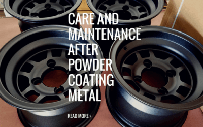 How do you maintain your powder coated metal?
