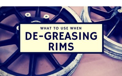 THE BEST WAY TO DEGREASE RIMS BEFORE POWDER COATING