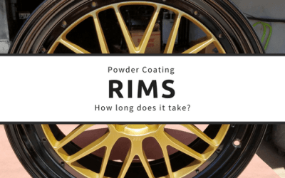 How long does it take to powder coat wheels?