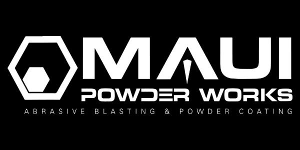 sticker, mens tee, team shirt, logo tee, logowear, maui powder works, merchandise, trucker hat, maui powder works work shirt