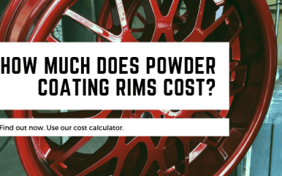 What does powder coating rims cost?