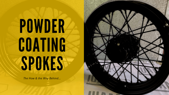 Can you powder coat spoked rims?