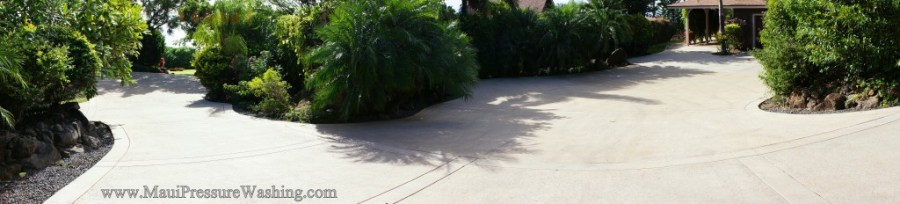 Launiopoko concrete cleaning