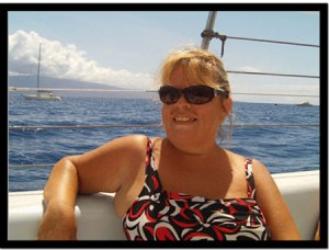 Athena, Manager and Team Member at the Maui Snorkel Store