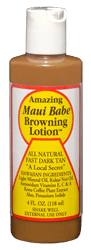 Maui Babe Tanning Lotion sold here