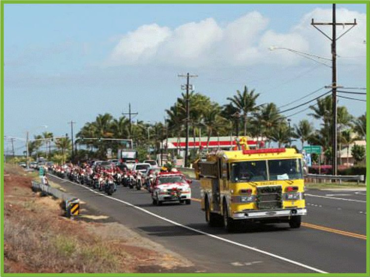 Fire Truck Toys for Tots Maui