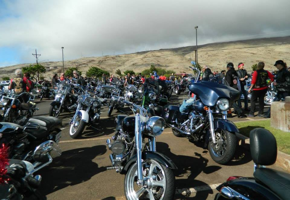 Bikers Toys For Tots : Motorcycle run schedule maui toys tots