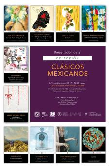 Colección Clásicos Mexicanos - Imagen cortesía del Instituto de Investigaciones Filológicas de la UNAM