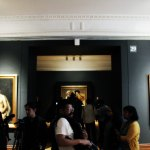 Sala donde se encuentra la exposición Caravaggio. Una obra, un legado.