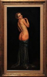 Nahui Olin, 1930, Ignacio Rosas, óleo sobre tela, colección Pérez Simón.
