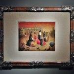 """El inventario,1940, Leonora Carrington, óleo sobre madera, colección particular, exposición """"Leonora Carrington, Cuentos Mágicos""""."""