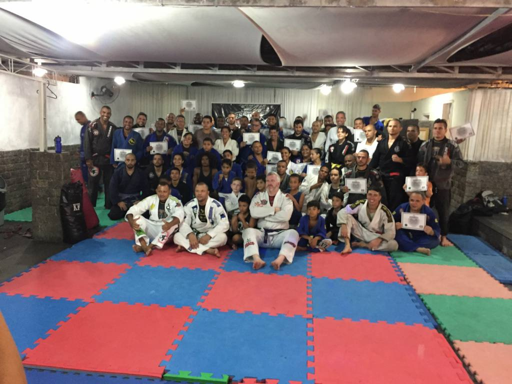 Jiu-Jitsu seminar at the academy of my great master Luiz Roberto Delvivo (Lula), in RJ - Brazil