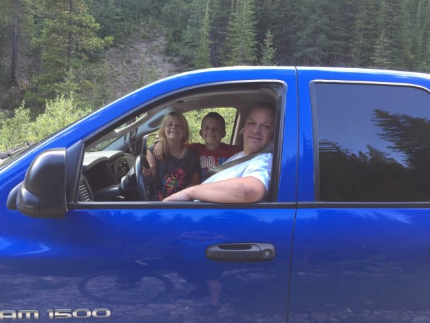 Family I met out for an afternoon scenic drive
