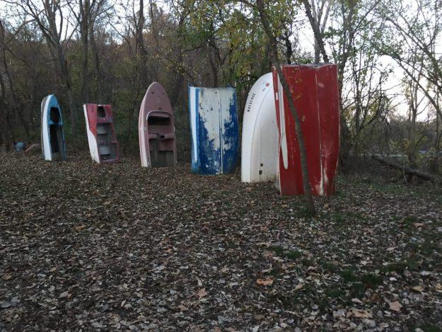 Boat Henge. Cooper's Landing