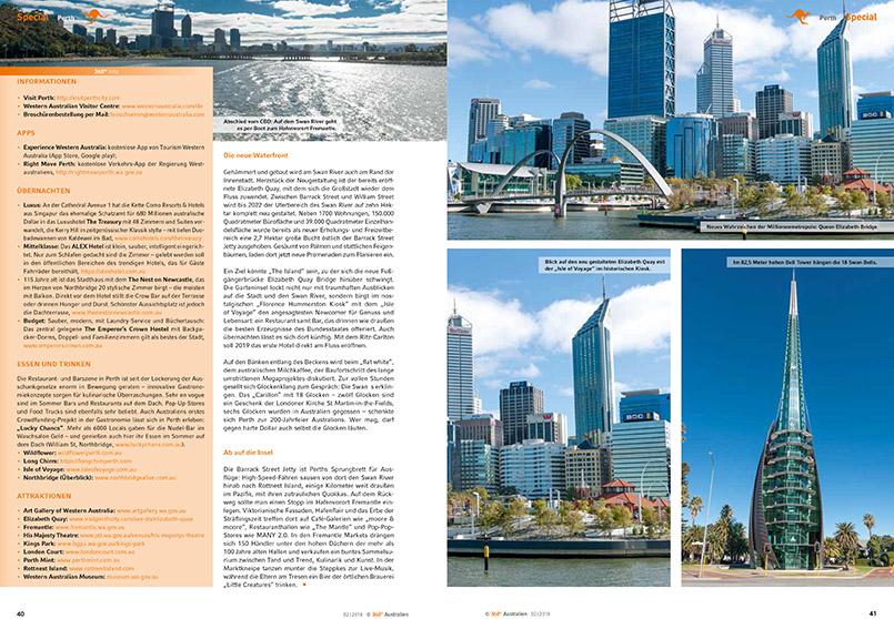 Perth - Stadt des Lichts