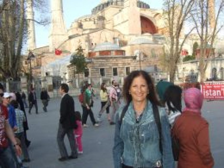 2013 - A happy me in Bucharest, Romania - traveling, learning and reporting on what's good in all of us