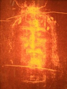 Did the Shroud of Turin capture an ancient and on-the-spot  projection of ascension?