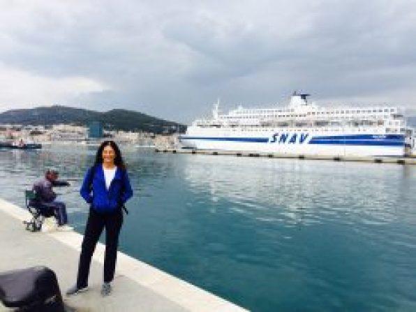 Inspired at the docks of Split, Croatia
