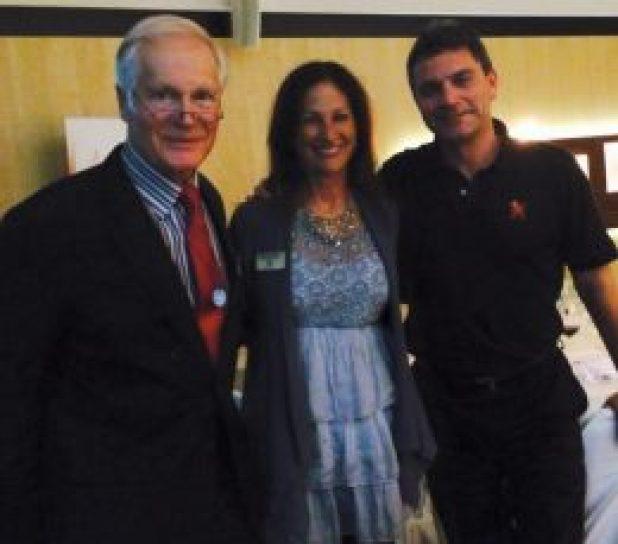 Maura Sweeney with Dr. Ted Marra and Paul Rigby as InfoArena 2015 speakers in Dubrovnik, Croatia