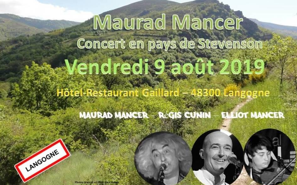 Concert Langogne Lozère