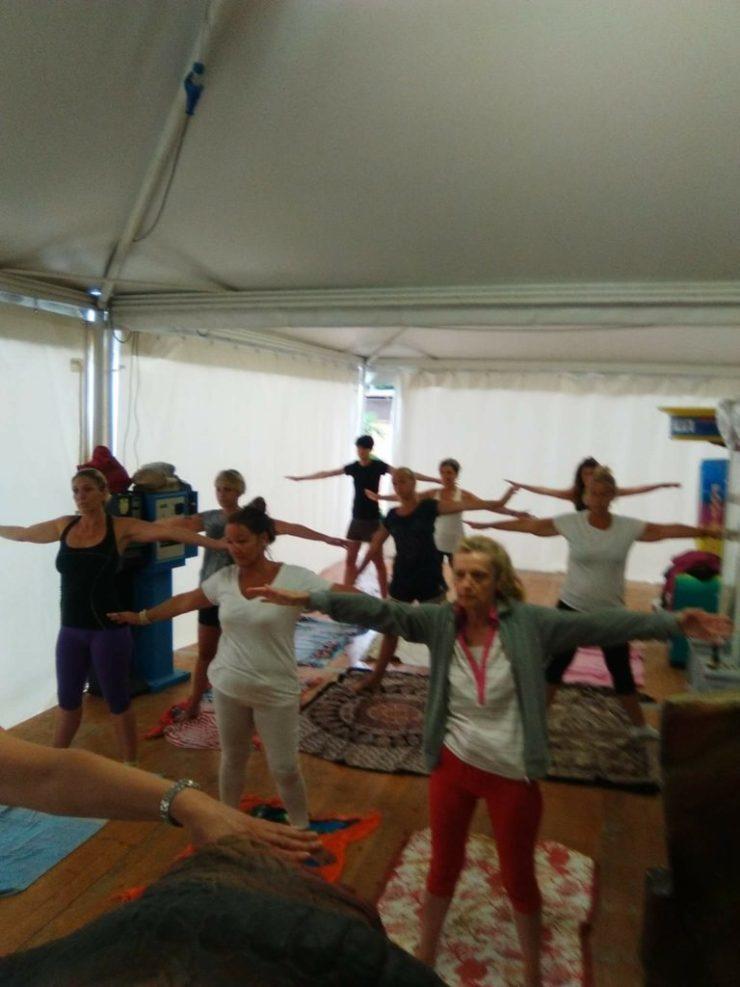 Yoga Camp Jesolo 2016 Maura Yoga,Maura Gottardo,Yoga a Jesolo