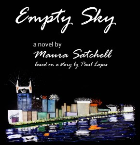 The front cover of the novel Empty Sky by Maura Satchell