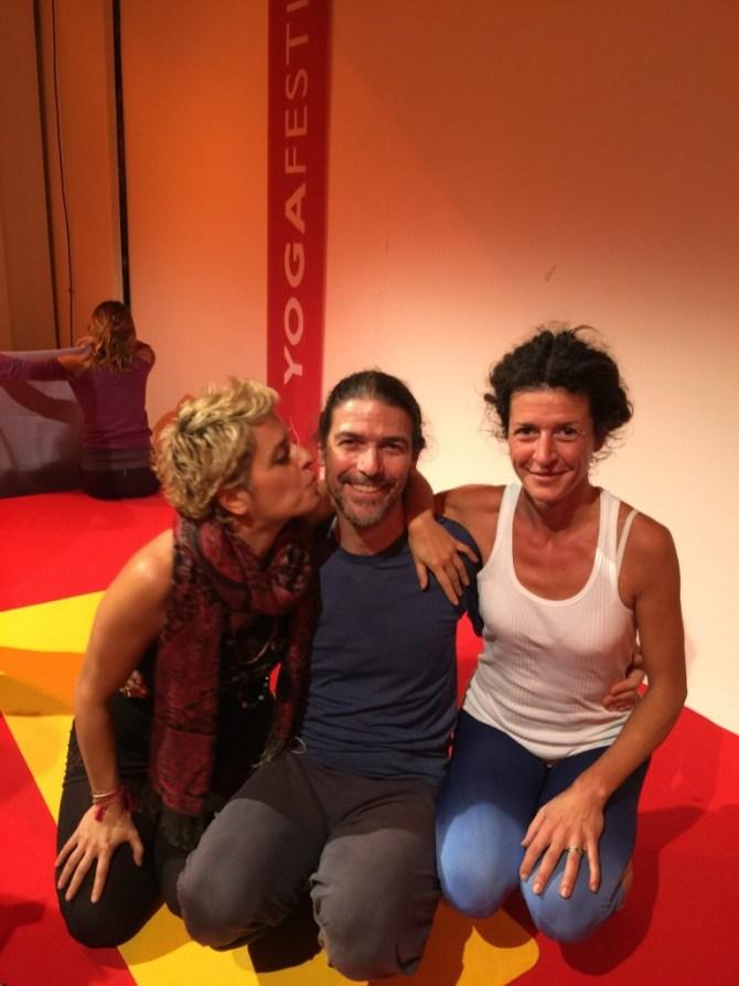 Yoga Festival di Milano 2016,Maura Yoga