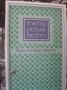 Through the green door, to the place where magic happens