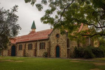 Pretty Anglican church on Beaufort Street Highgate