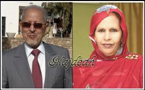ولد الشيخ عبد الله رفقة السيدة الأولى ختّ