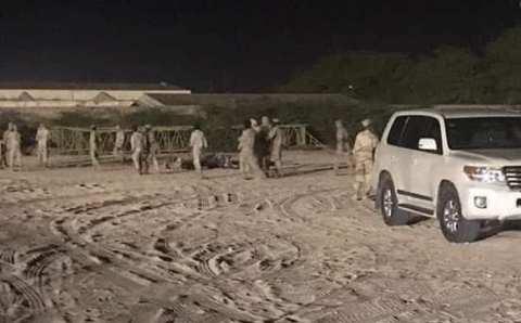 الجيش الموريتاني يبدأ تهيئة مستشفى ميداني في نواكشوط (صور)