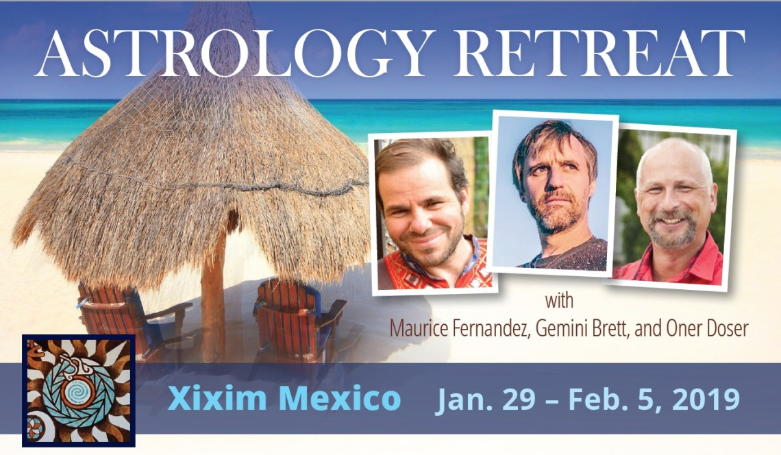 Astrology Retreat Mexico 2019 - Maurice Fernandez