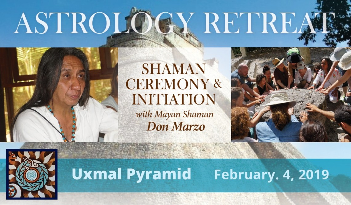 Astrology Retreat Mexico 2019 - Maurice Fernandez - Astrology and