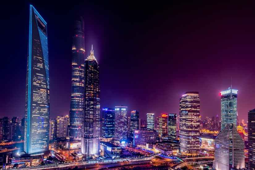 Beautiful city lights