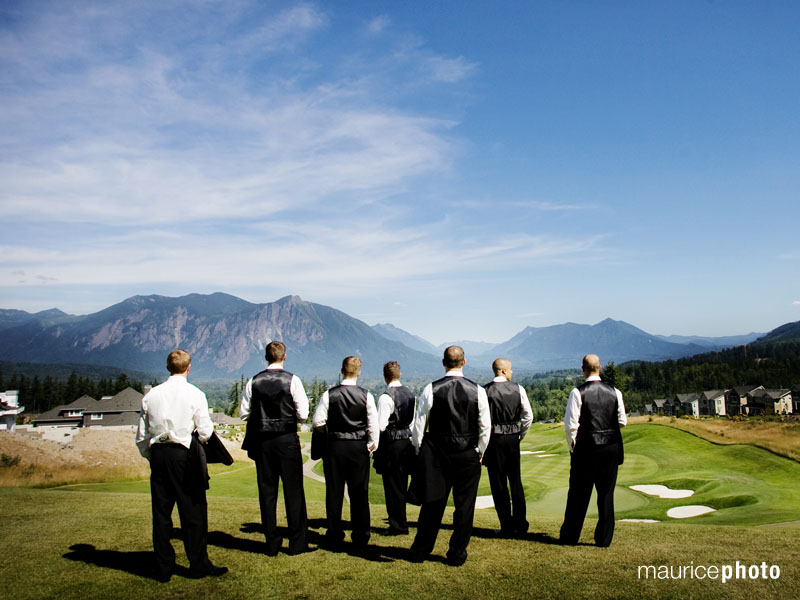 Wedding Pictures at Snoqualmie Ridge