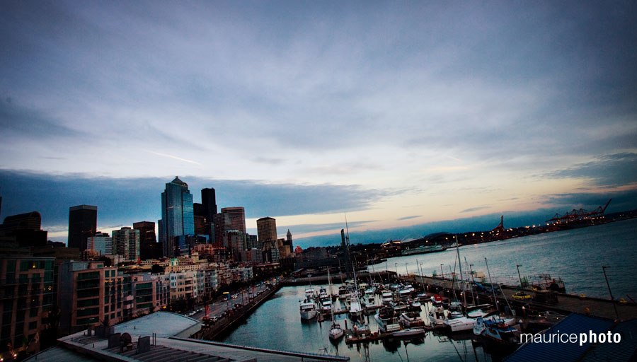 Wedding Pictures at the Seattle Cruise Ship Terminal