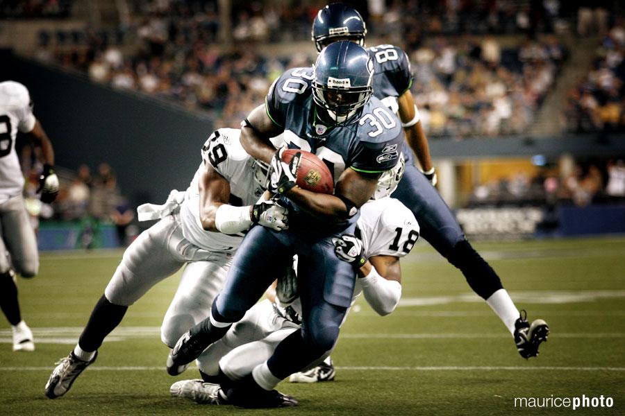 Seahawks Pictures vs Raiders