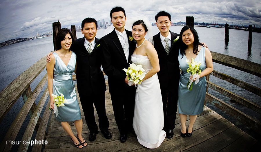 Wedding Pictures at Salties on Alki