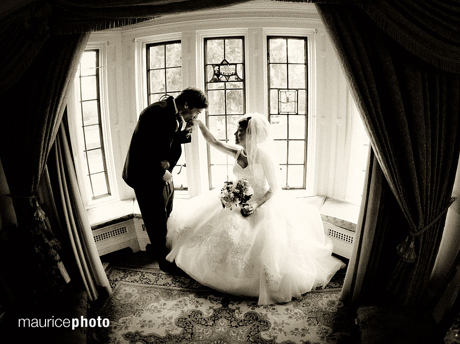 Wedding Pictures at the Thornewood Castle