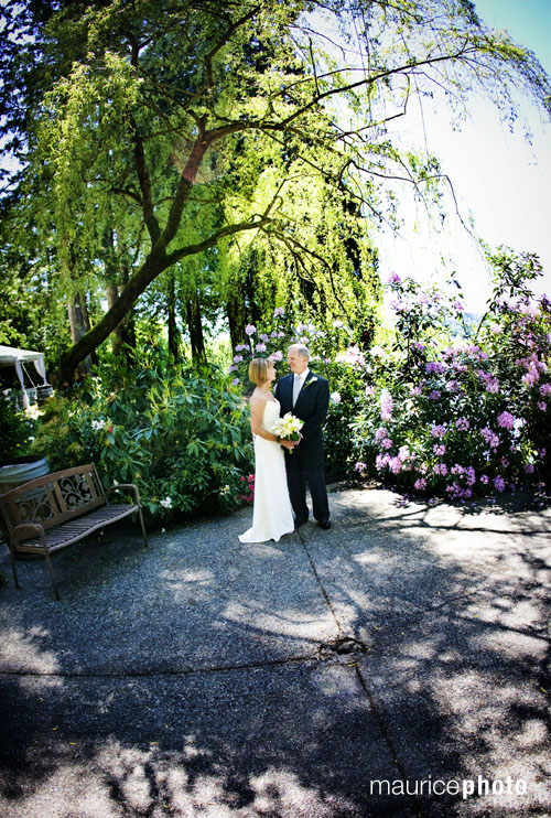 Photography from a wedding at Delille Cellars