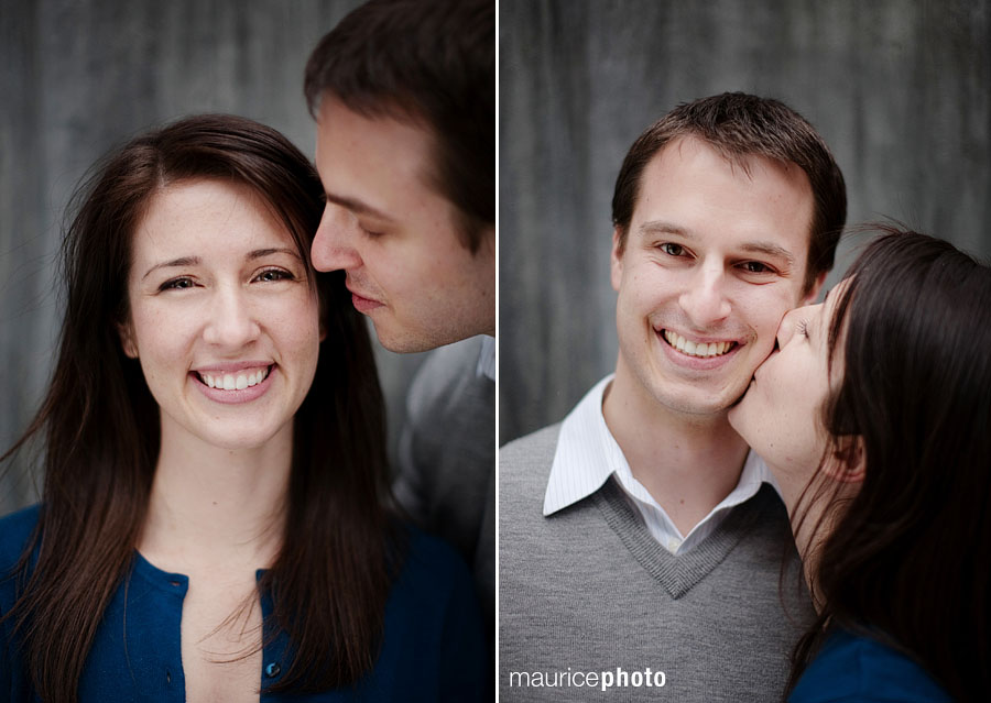 Engagement Pictures in Downtown Seattle