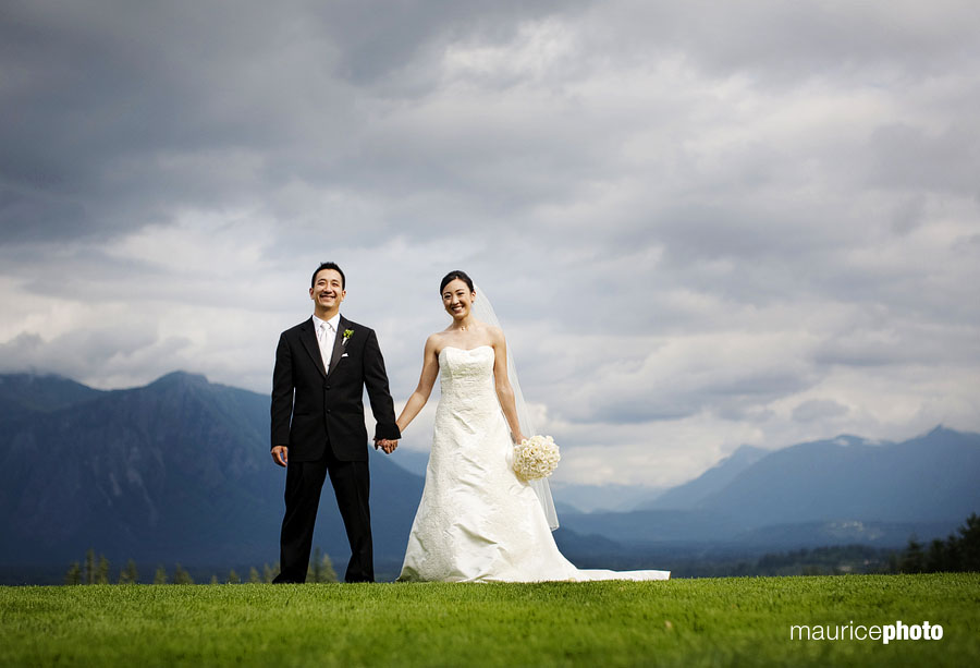 Wedding Photography at TPC Snoqualmie Ridge
