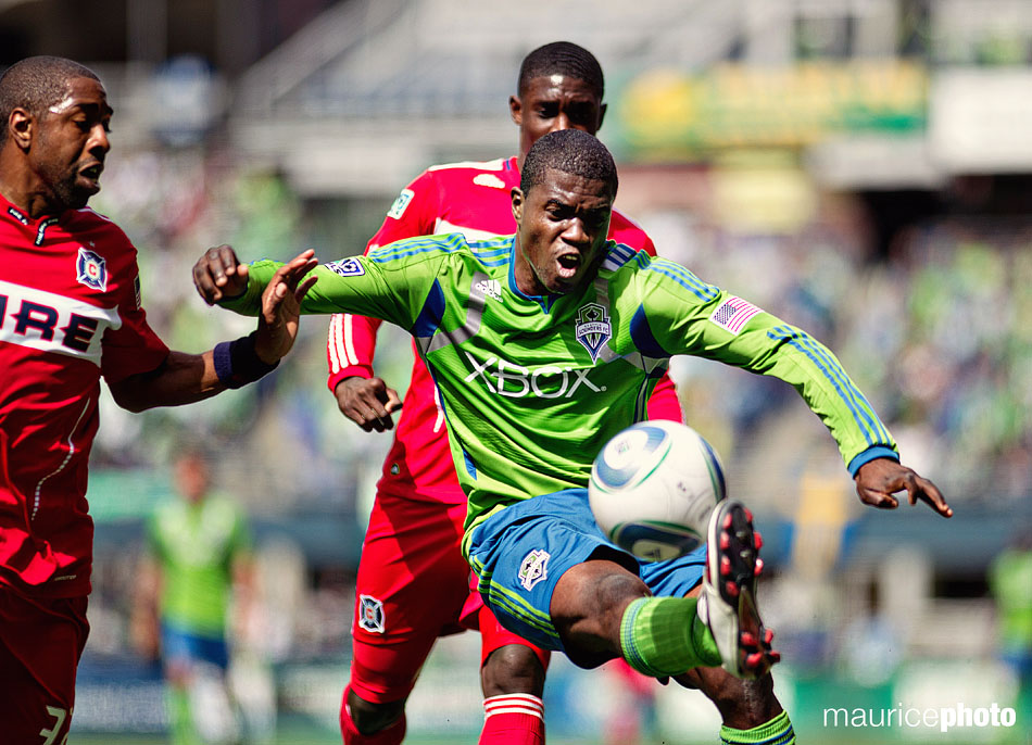 Sounders game action photos