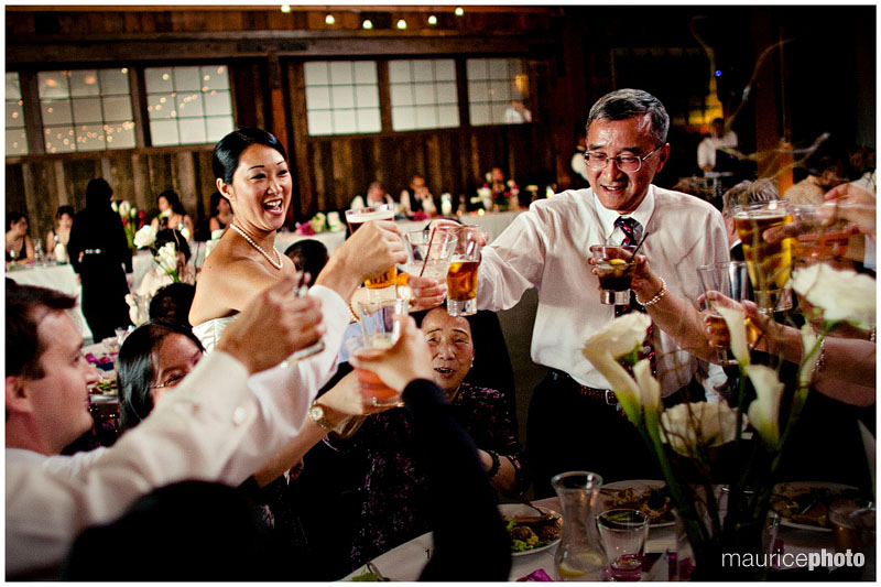 Asian style wedding toast pictures