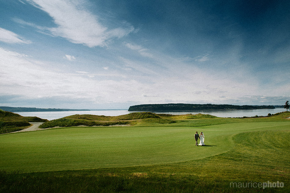 Pictures from a wedding at Chambers Bay.
