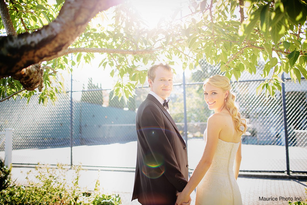Wedding Photos at the Seattle Tennis Club