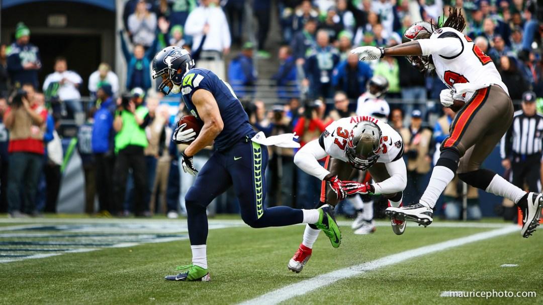 Seattle Seahawks vs Tampa Bay Buccaneers; Jermaine Kearse