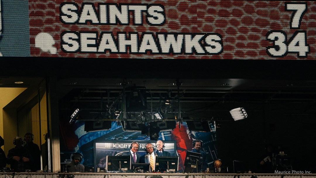 MNF Seahawks Saints